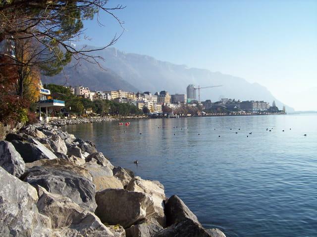 Le reflet de Montreux