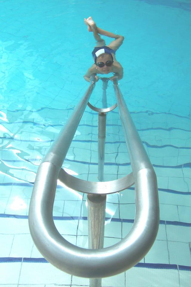 Le repos du petit nageur