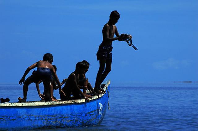 Le retour à la mer après le tsunami