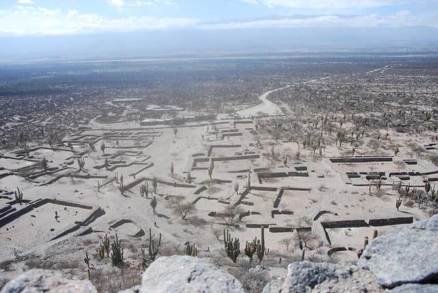 Le site sacré des Indiens Quilmes