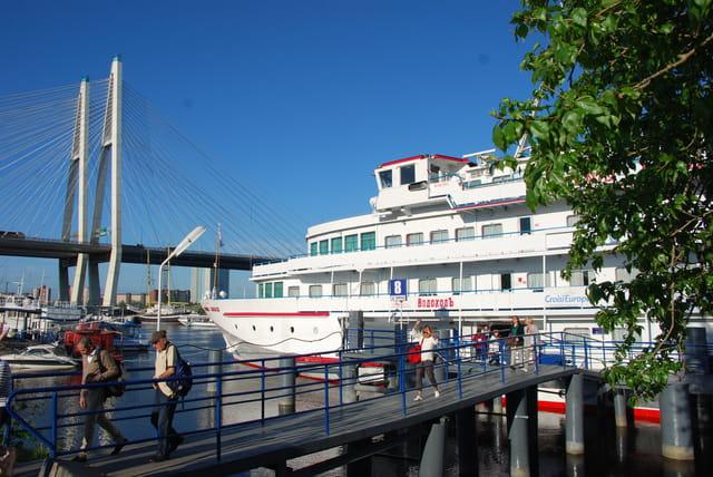 le Sobolev, bateau de croisière sur la Neva