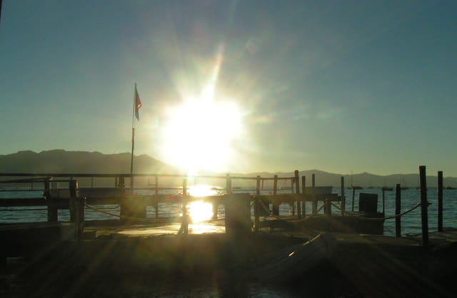 Le soleil au Lake Tahoe