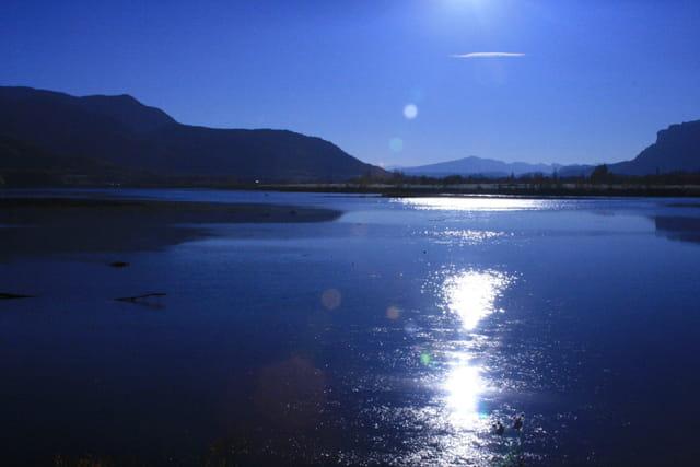 le soleil de l'eau