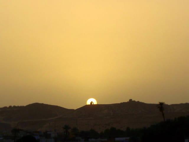 Le soleil se couche sur Assouan