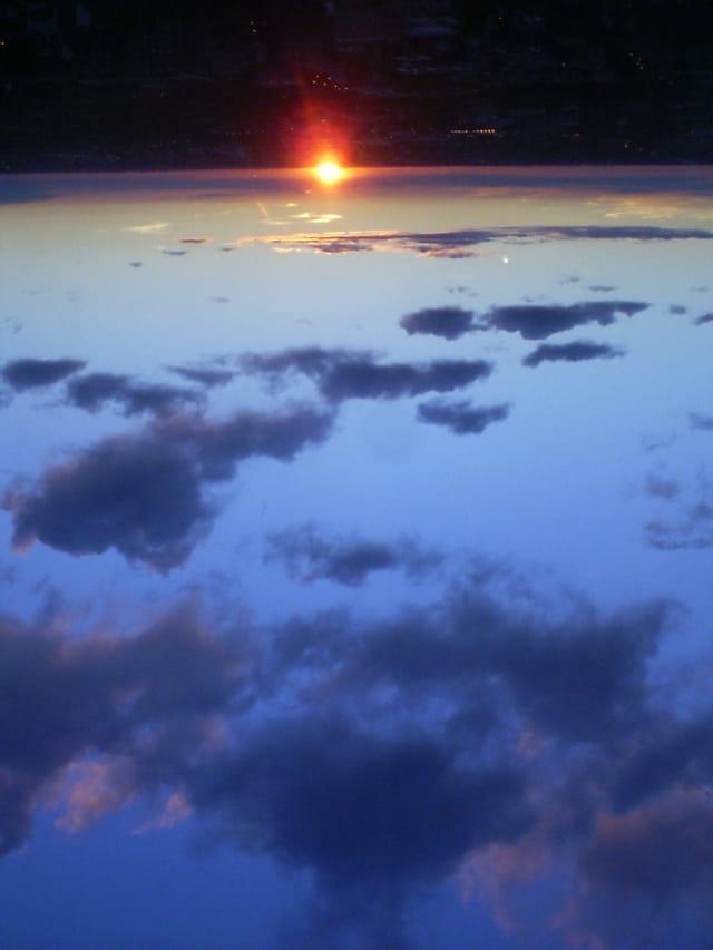 Le soleil se lève ...