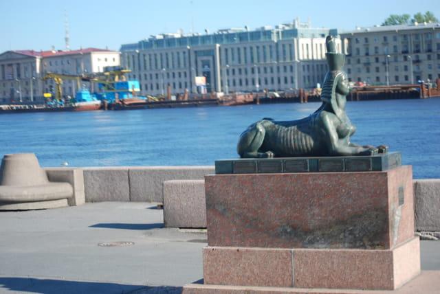 le sphinx de Saint Petersbourg
