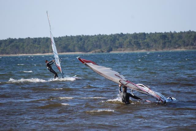 le sport sur le lac
