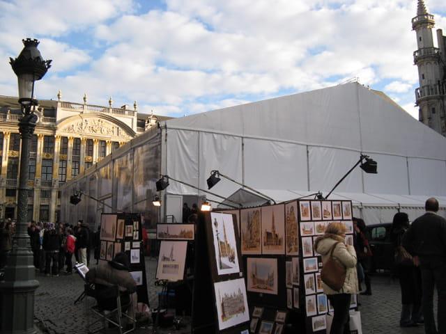 Le studio sur la Grand Place