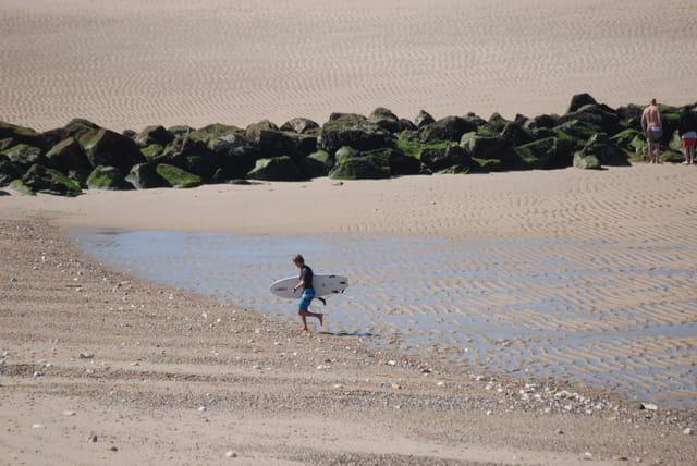 le surf à l'océan