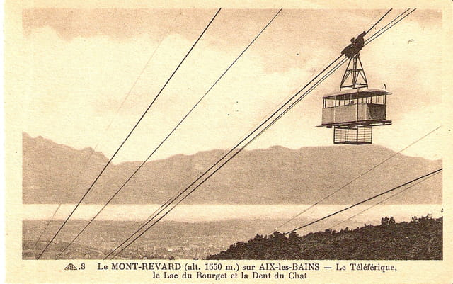 Le téléphérique du mont Revard