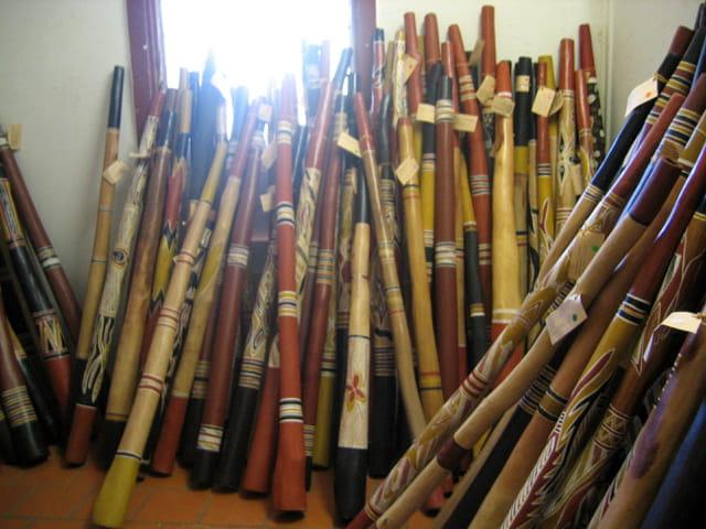 Le temple du Didgeridoo