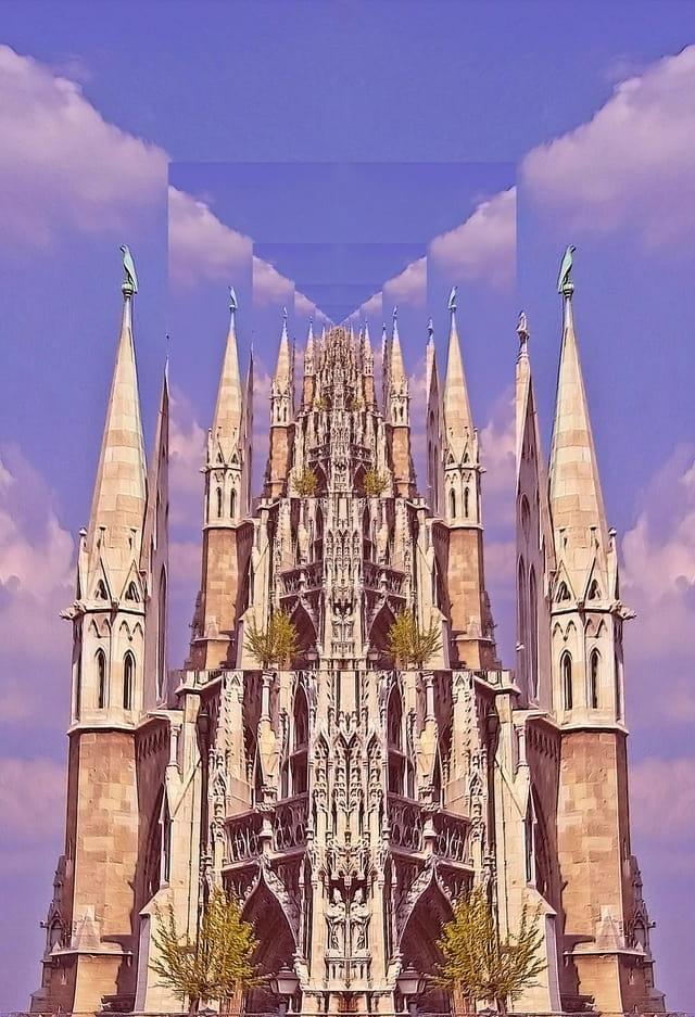 Le temple infini