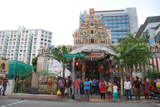 le temple Sri Mariamman