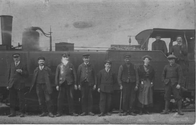 Le train de mon grand-père