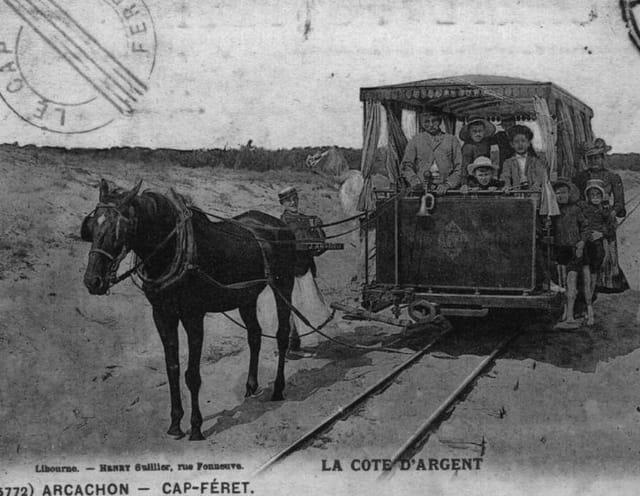 Le tramway du Cap-Féret