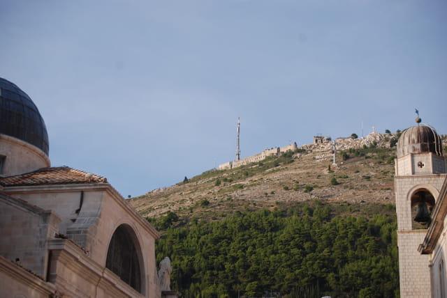 le téléphérique de Dubrovnik sur le Mont Srd