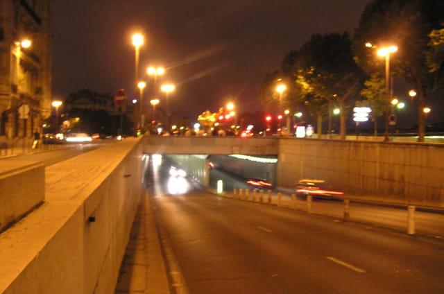 Le tunnel parisien de l'Alma, le 31 août 2007 à 0h24 (10 ans plus tard)