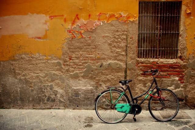 Le vélo se pose,le cycliste reviendra