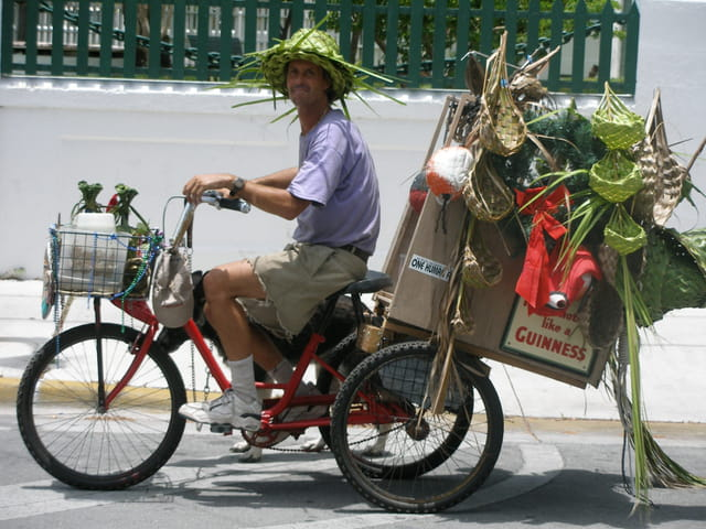 Le vendeur de chapeaux