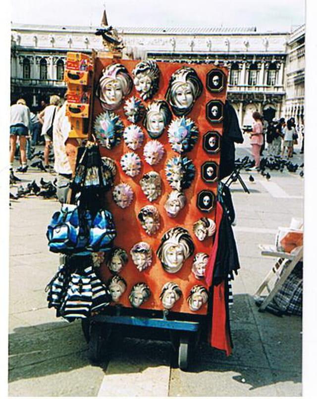 Le vendeur de masques