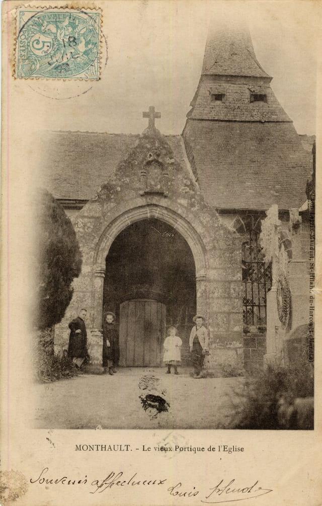 Le vieux portique