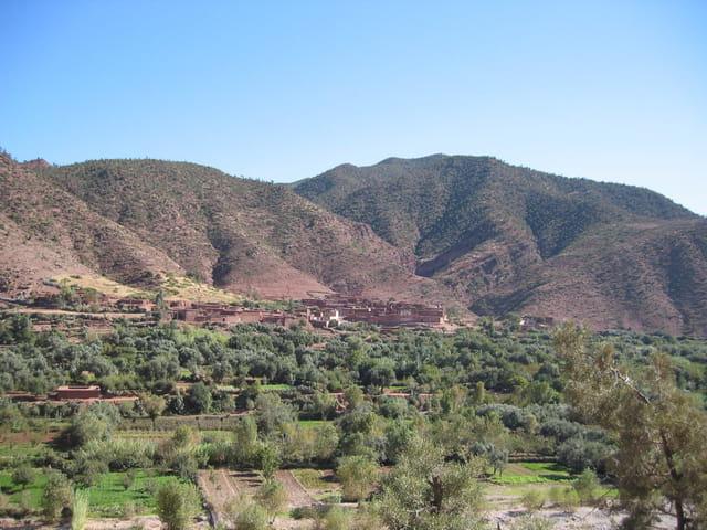 Le village au  bout de la vallée