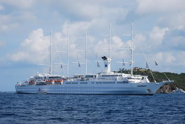 le voilier du club Med