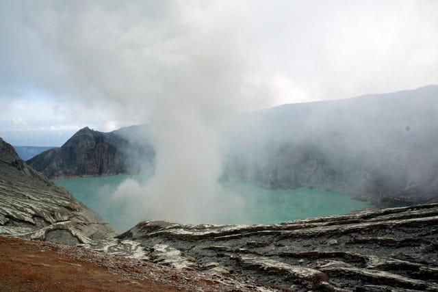 Le volcan Ijen