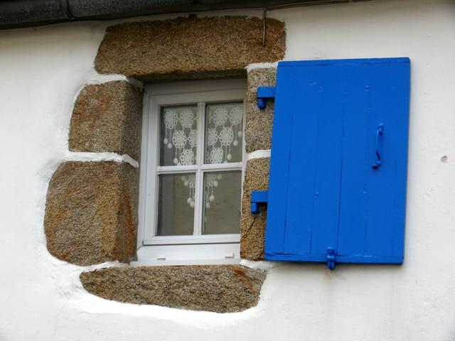 Le volet bleu