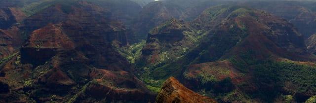 Le Waimea canyon!