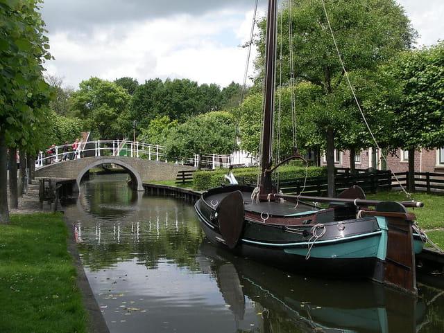 Le ZuiderZeeMuseum à Enkhuizen, aux Pays-Bas