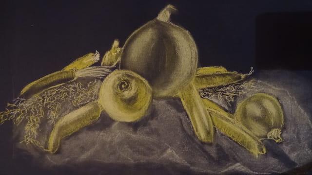 légumes à la craie