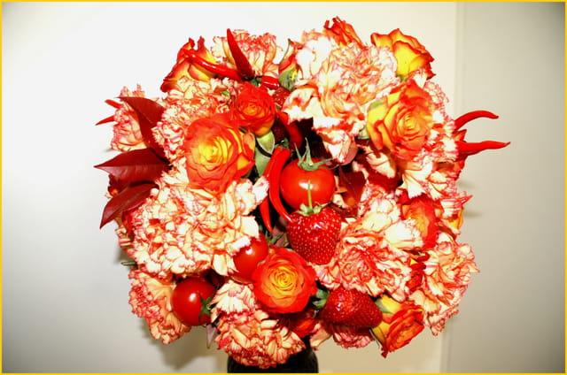 Légumes, fleurs et fruits
