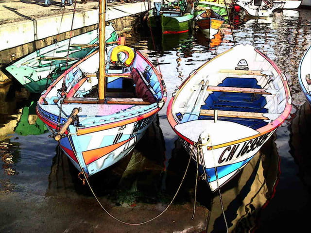 Les 2 barques