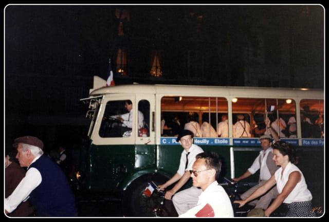 Les 50 ans de la libération de Paris 1994