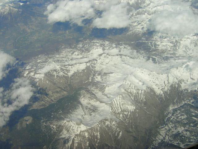 Les alpes à 12000 mètres
