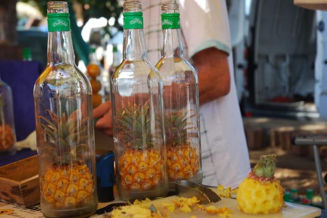 les ananas du rhum arrangé