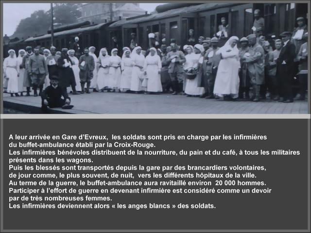 Les anges blancs d'Evreux pendant la Grande Guerre