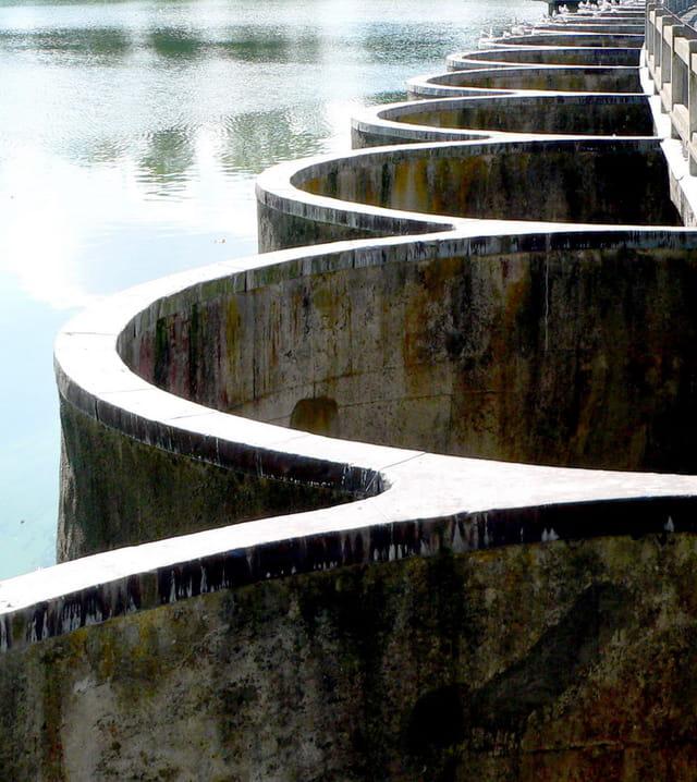 Les arches du barrage