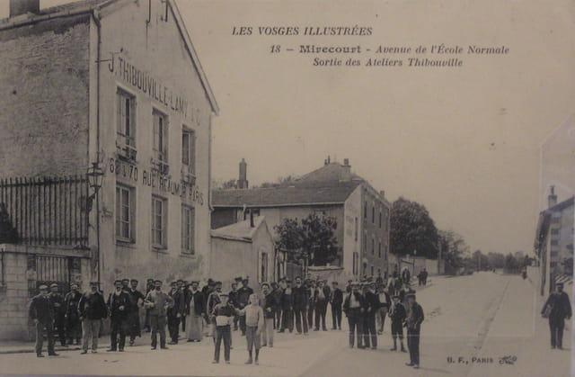 Les ateliers Thibouville de Mirecourt