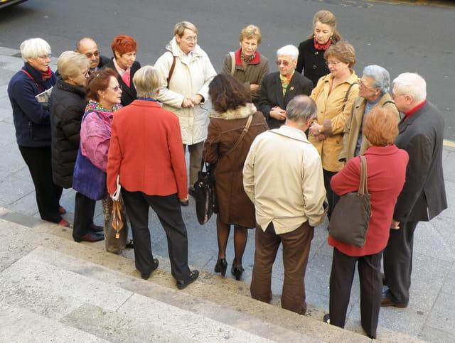Les AVF du Pecq visitent l'Eglise Saint-Roch à Paris