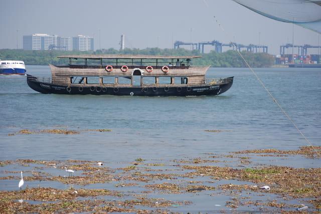 les bateaux de Cochin