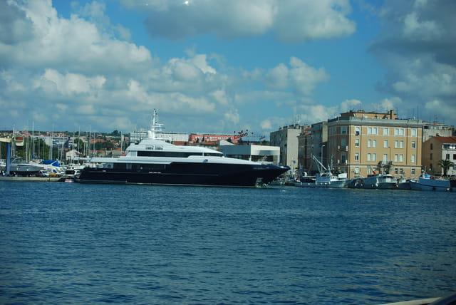 les bateaux de Zadar