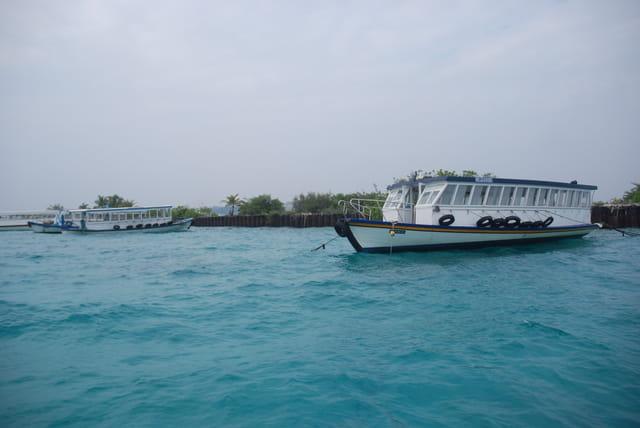 les bateaux des Maldives