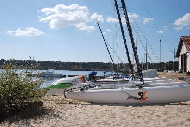 les bateaux du lac