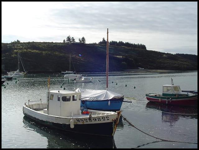 Les bateaux sont au repos