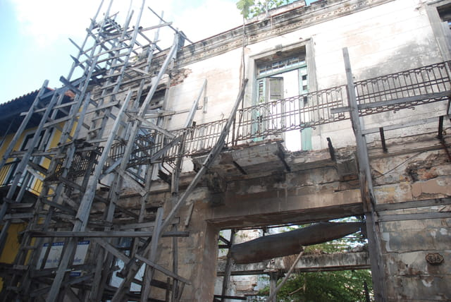 les beaux immeubles anciens de La Havane