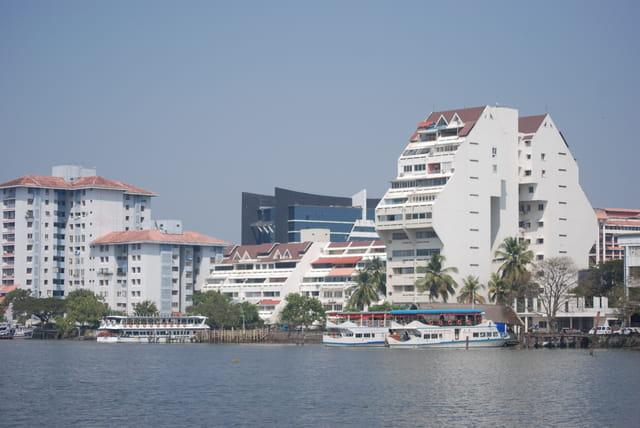 les beaux immeubles de Cochin