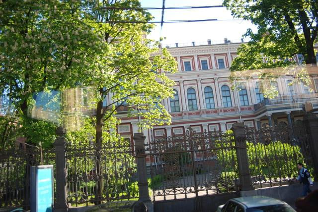 les beaux immeubles de Saint Petersbourg