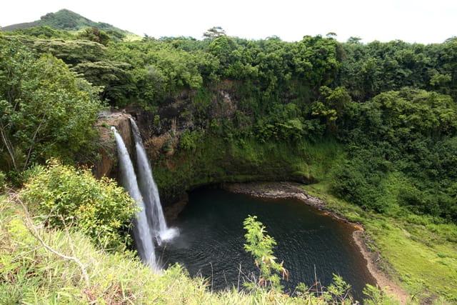 Les belles chutes de Wailua!